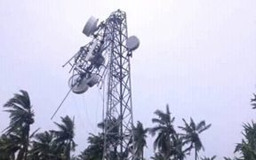 Cyclone Hola - communications down