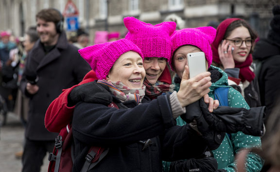 The last year has seen global Women's Marches and the rise of the #metoo anti-sexual harassment movement