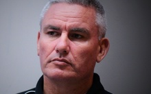 Kelvin Davis at JustSpeak's public discussion on prisons in September 2015.