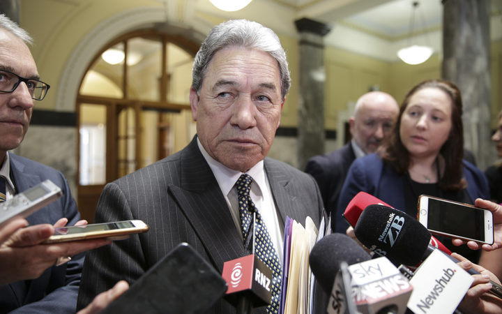 Winston Peters reacts to North Korea missile test.