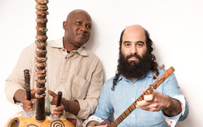 Kiya Tabassian and Ablaye Cissoko of Canadian ensemble Constantinople