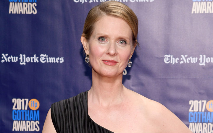 Actor Cynthia Nixon attends IFP's 27th Annual Gotham Independent Film Awards on November 27, 2017 in New York City.