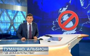 "A Russia news programme warned ""traitors"" about choosing the UK as a place to live."