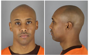 Mugshot of Mohammed Noor from Hennepin County Sheriff's Office.