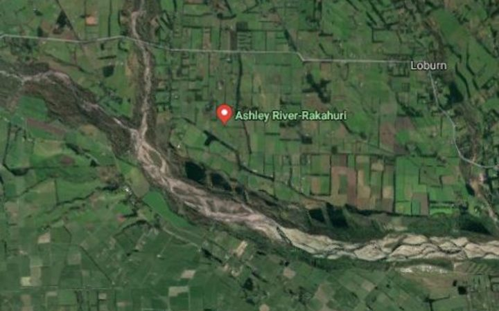 A body has been found on the banks of Ashley River in Canterbury.