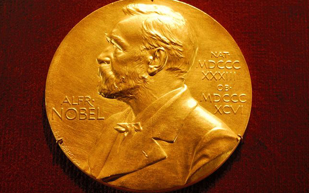 Medallion of Alfred Nobel