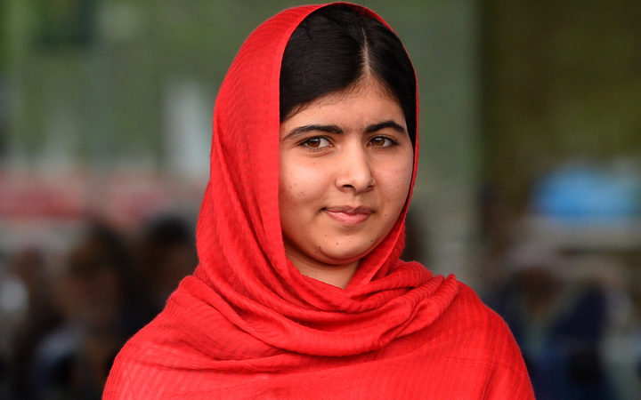 Malala Yousafzai (pictured in September 2013 in Birmingham)