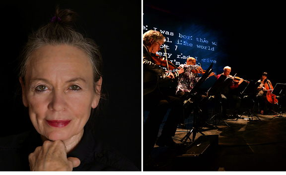 Laurie Anderson and the Kronos Quartet
