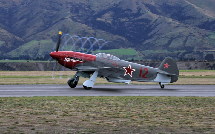 A yak3 at the Warbirds Over Wanaka show.