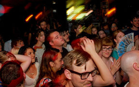 A crowded night at Auckland's Whammy Bar in 2010