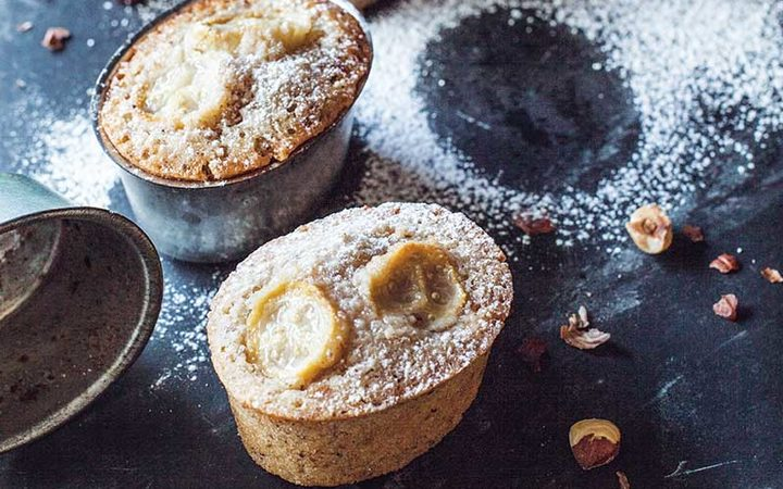 Feijoa Friands by Annabel Langbein