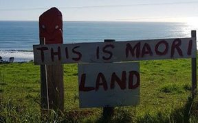 Haumoana White and his family are refusing to leave the land they say is theirs, but a Māori Land Court order says it belongs to their neighbour.