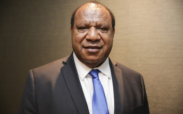 Papua New Guinea's Minister for Foreign Affairs and Immigration, Rimbink Pato