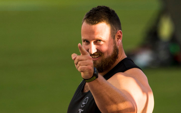 Tom Walsh breaks the Commonwealth Games Record with a new personal best in the Shot Put Qualifying