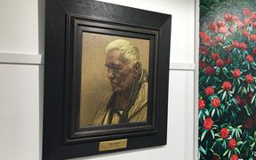 The portrait of Tamati Pehiriri by Charles Goldie sold for almost $1 million.