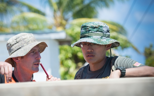 Military engineers and tradesmen from China, New Zealand, Britain and the US spent six weeks on a range of infrastructure projects in the Cook Islands.