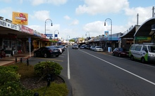 The main street in Huntly