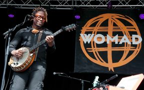 Blick Bassy performing at Womad