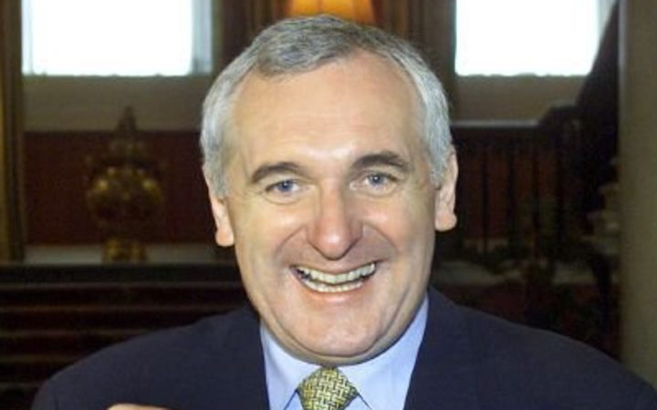 Former Irish PM Bertie Ahern
