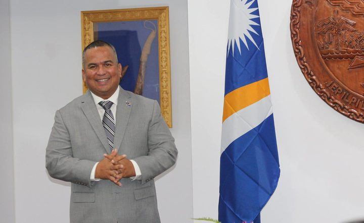 Marshall Islands Minister of Environment David Paul
