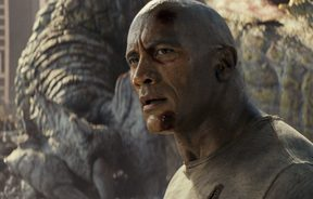 Still of Rampage, showing actor The Rock