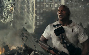 Still of The Rock in Rampage