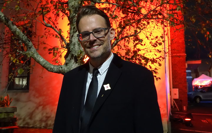 Paul Baragwanath, the director and curator of the art event.