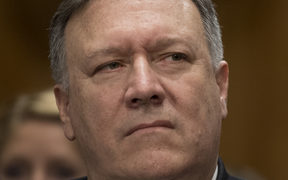New US Secretary of State Mike Pompeo.