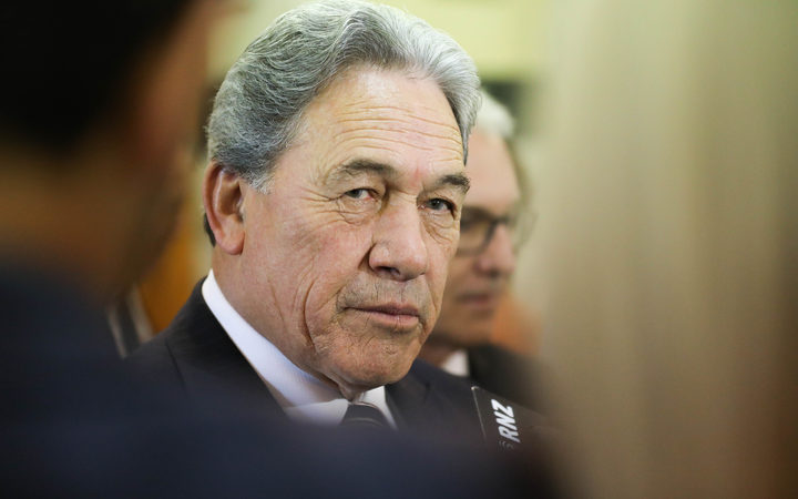 Deputy Prime Minister and New Zealand First leader Winston Peters. 22 March 2018