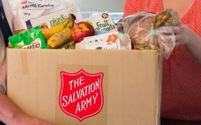 Food parcel demand worst since recession - Salvation Army