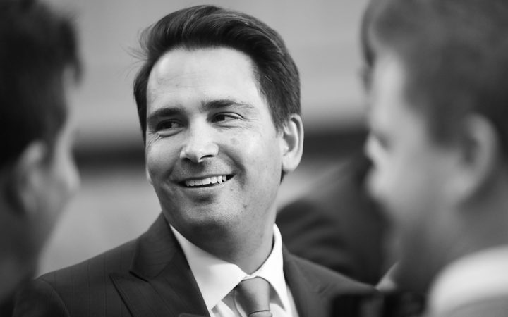 National Party Leader Simon Bridges. 22 Mach 2018