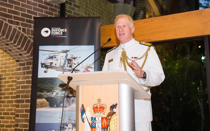Senior New Zealand naval officer accused of hiding camera in embassy toilets