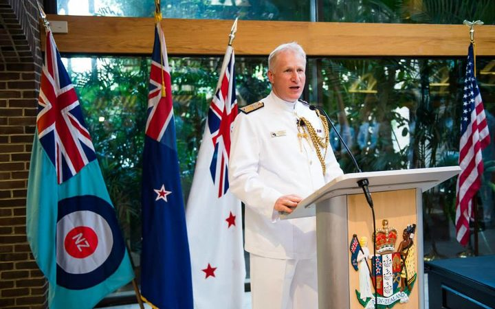Top New Zealand navy officer accused of hiding camera in embassy toilet