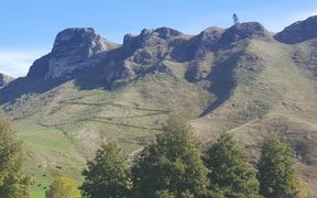 The controversial walking track up the Eastern side of Te Mata Peak.
