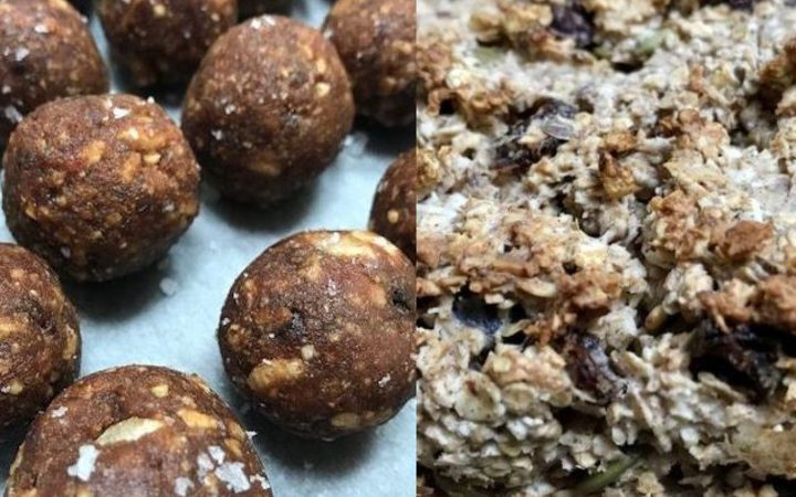 Energy Balls and Oat Power Loaf
