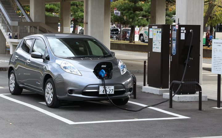 File photo of a Nissan Leaf.
