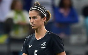 Former captain Abby Erceg has returned to the Football Ferns after her departure due to financial difficulties.