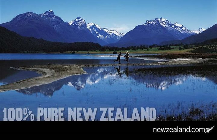 The 100 Pure Campaign Photo Supplied New Zealand