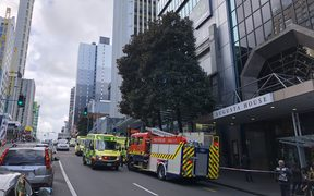 There has been a gas leak at Augusta House in central Auckland.