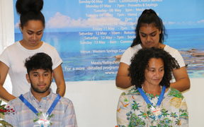 Rotuma Language Week. Ngaire Fuata and Rocky Khan