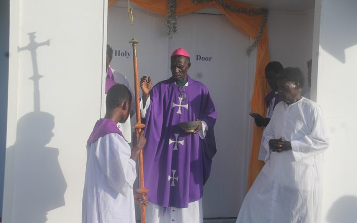 Bougainville Bishop Bernard Unabali