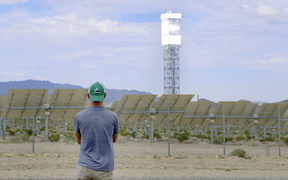 James Redford at Ivanpah