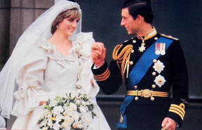 Charles and Diana wedding 1981