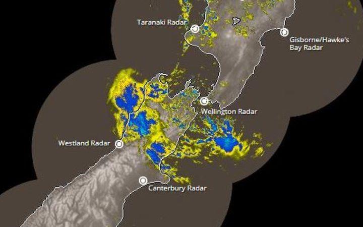 Weather Radar North Island New Zealand