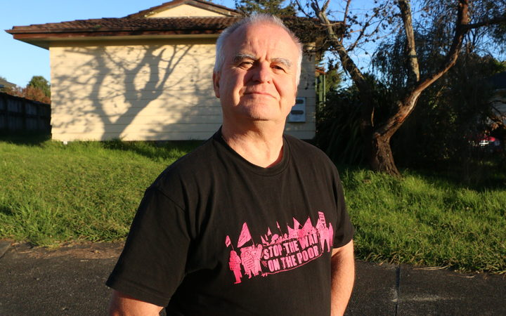 Beneficiary advocate Alastair Russell, from Auckland Action Against Poverty.Photo/ Eva Corlett