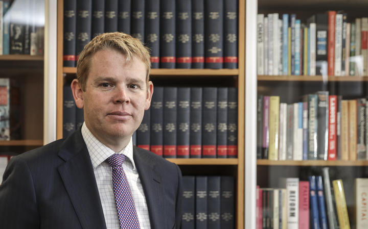 Chris Hipkins, Minister of Education.