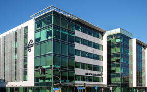 Air New Zealand's office building is included in the sale.