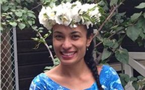 Cook Islands National Youth Council President, Sieni Tiraa