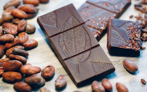 Solomons Gold single origin chocolate made in New Zealand out of cacao from Solomon Islands.