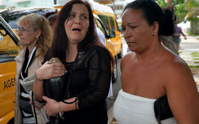 A relative of one of the victims of the plane crash in Havana, Cuba, that killed 111 people.